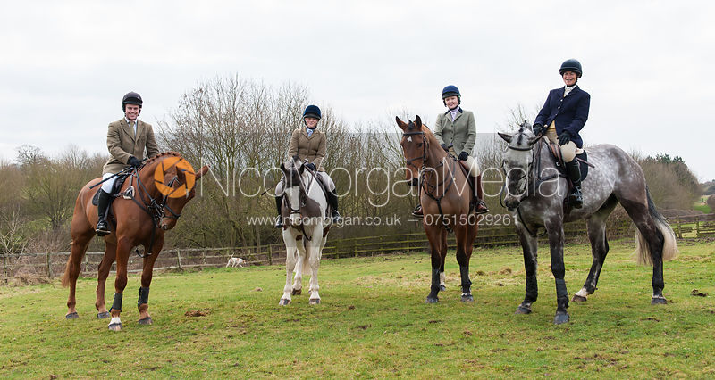 Tom Gadsby, Meghan Healy and Tiny Clapham