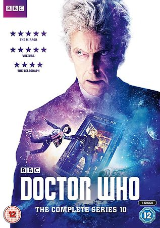 Doctor Who Series 10 DVD cover photography