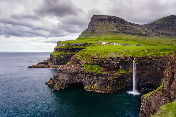 Gasadalur - Vagar, Faroe Islands