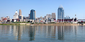 Cincinnati Panoramic Skyline