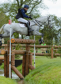 Harry Dzenis and XAM - Cross Country phase, Mitsubishi Motors Badminton Horse Trials 2014