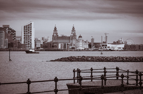 Pier Head, Liverpool (UK).