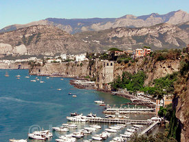 Sorrento Bay of Naples.