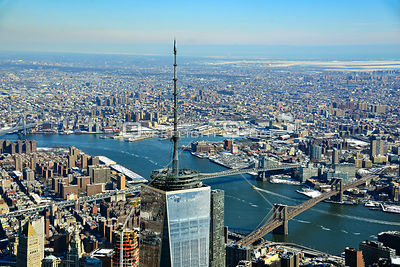 Top of One World Trade Centre