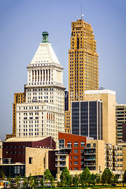 Photo of Downtown Cincinnati Buildings