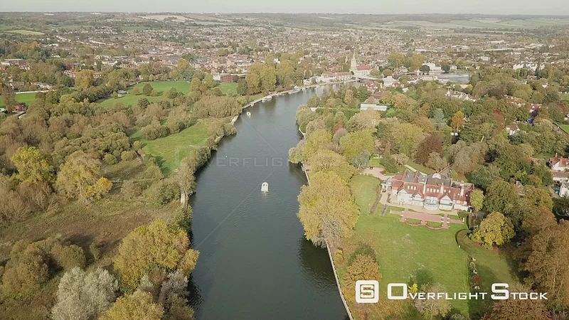 Recreational Boating on the River Thames Maidenhead England UK