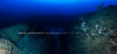 At 80 meters depth
