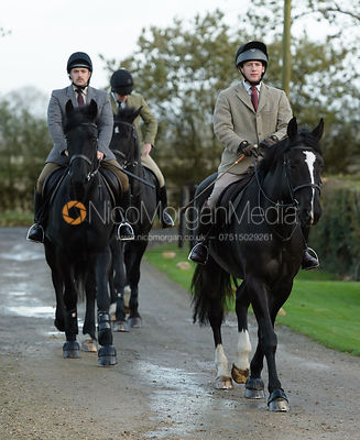 The Cottesmore Hunt at the kennels 21/10