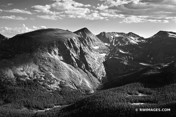 Rocky Mountain National Park Colorado - Black and White Photos