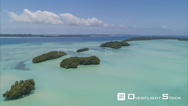 Ngemelis Hyperlapse 4K islands of Palau