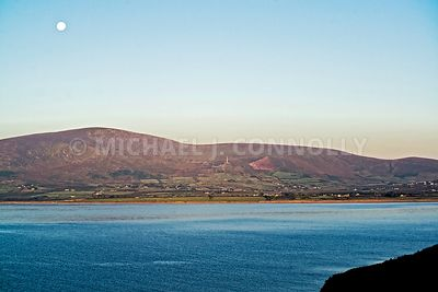 Ventry Horbor Full Moon- County Kerry Ireland