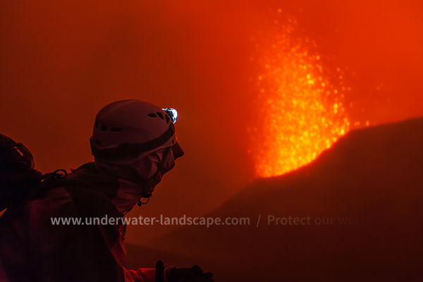 Eruption May 2015, La Fournaise