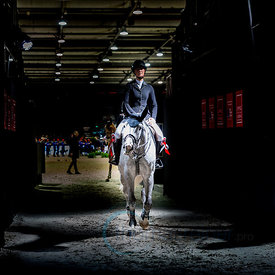 Bordeaux, France, 2.2.2018, Sport, Reitsport, Jumping International de Bordeaux - . Bild zeigt P?n?lope LEPREVOST (FRA) ridin...