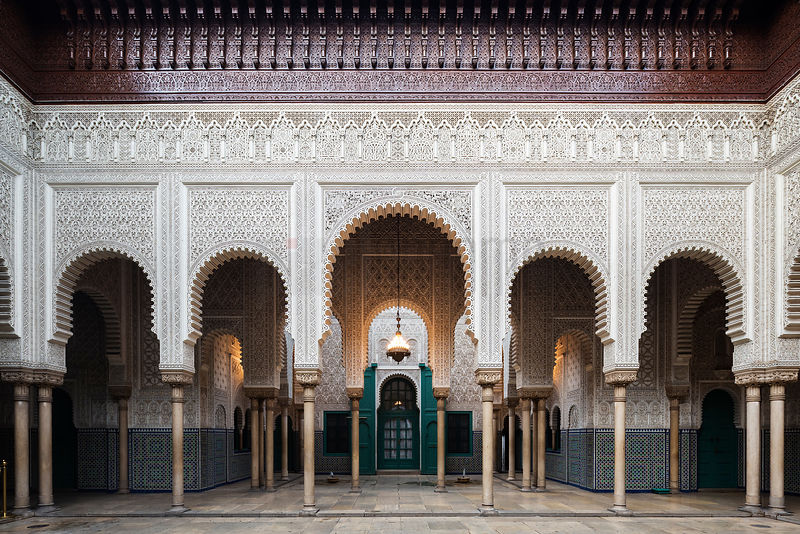 City Administrative Buildings Built in Moorish Style