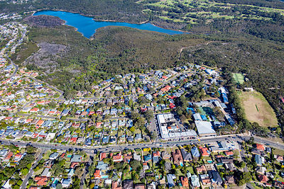 Allambie Heights and Manly Dam