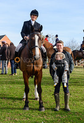 Bee Bell, Chris Tait, Cottesmore Hunt Opening Meet 2018