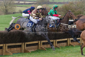 Race 7, the 2 mile 4 furlong Maiden - The Quorn at Garthorpe 21st April 2013.