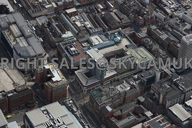 Leeds aerial photograph of the area of The Core Shopping centre