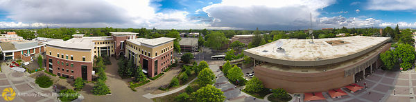 Chico State Aerial Panorama #1