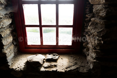 Interior Window, Famine Cottage- Dingle Peninsula, Irelandg