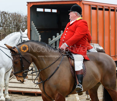 At the meet - The Cranwell Bloodhounds in Grimsthorpe Park 5/2