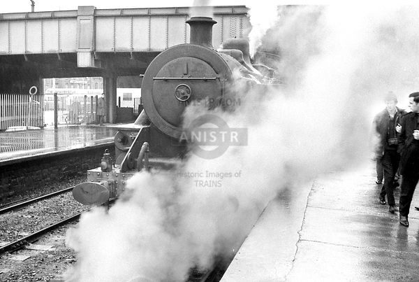 Steam loco WT 56 Belfast Great Victoria Street
