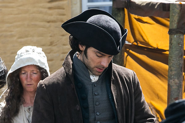 Poldark Filming in Corsham May 2014