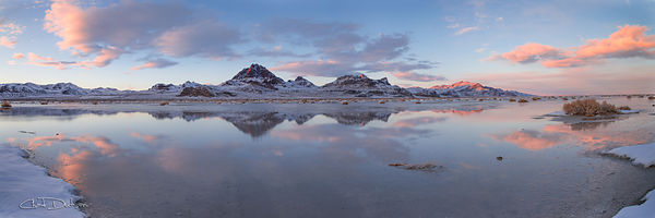 I visited the Bonneville Salt Flats during winter, to capture a different composition. But upon reaching the destination, I s...