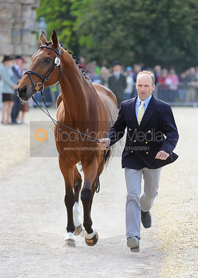Joris Vanspringel and LULLY DES AULNES - Mitsubishi Motors Badminton Horse Trials 2013