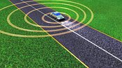 Doppler Effect: sound waves from a moving vehicle