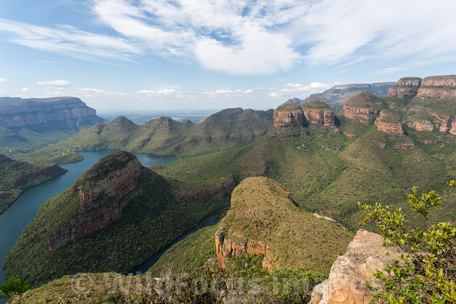 The Three Rondawels, Blyde River Canyon Nature Reserve, Panorama Route , South Africa; Landscape