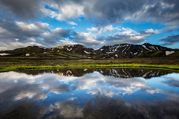 Mountain Reflections in the South Highlands