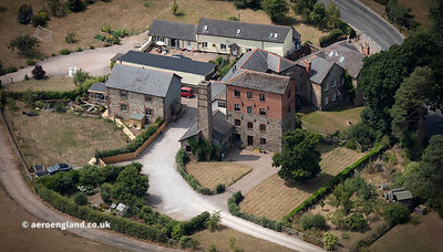 Newland Mill  North Tawton aerial photograph