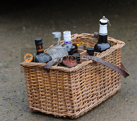Game shooting images - alcoholic drinks