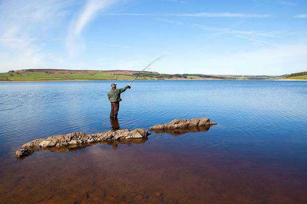 Fishing in Northumbrian Water reservoirs