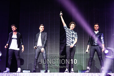 Union J, NIA photos