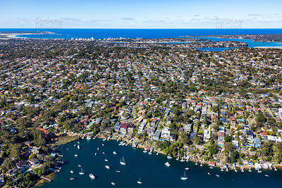 East over Caringbah South