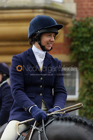 Ursula Moore - The Belvoir Hunt at Scalford Hall 16-11-13