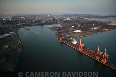Sparrows Point Industrial Area