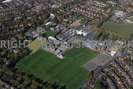 Stockport Aerial photograph of Stockport Grammar School