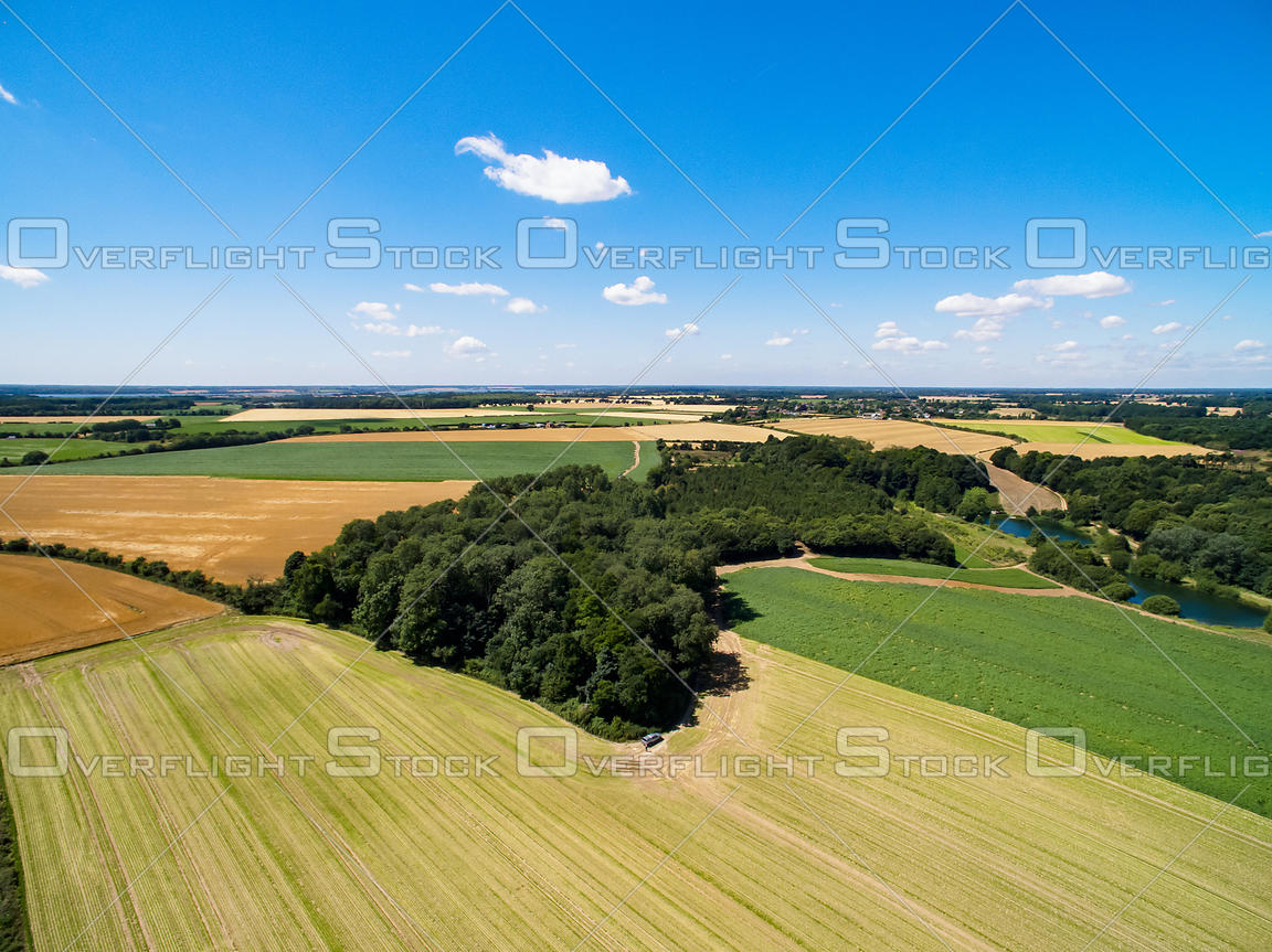 Farming at Ipswich Sullolk England UK