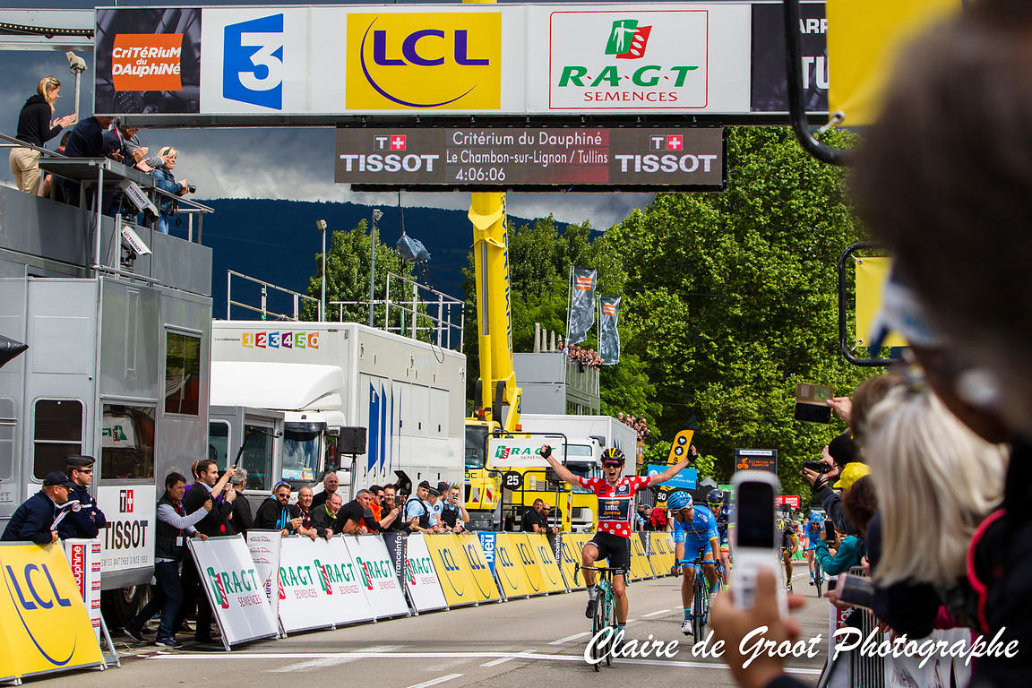 Victory for Koen Bouwman in the 3rd stage
