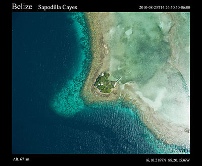 Belize Aerial Photography