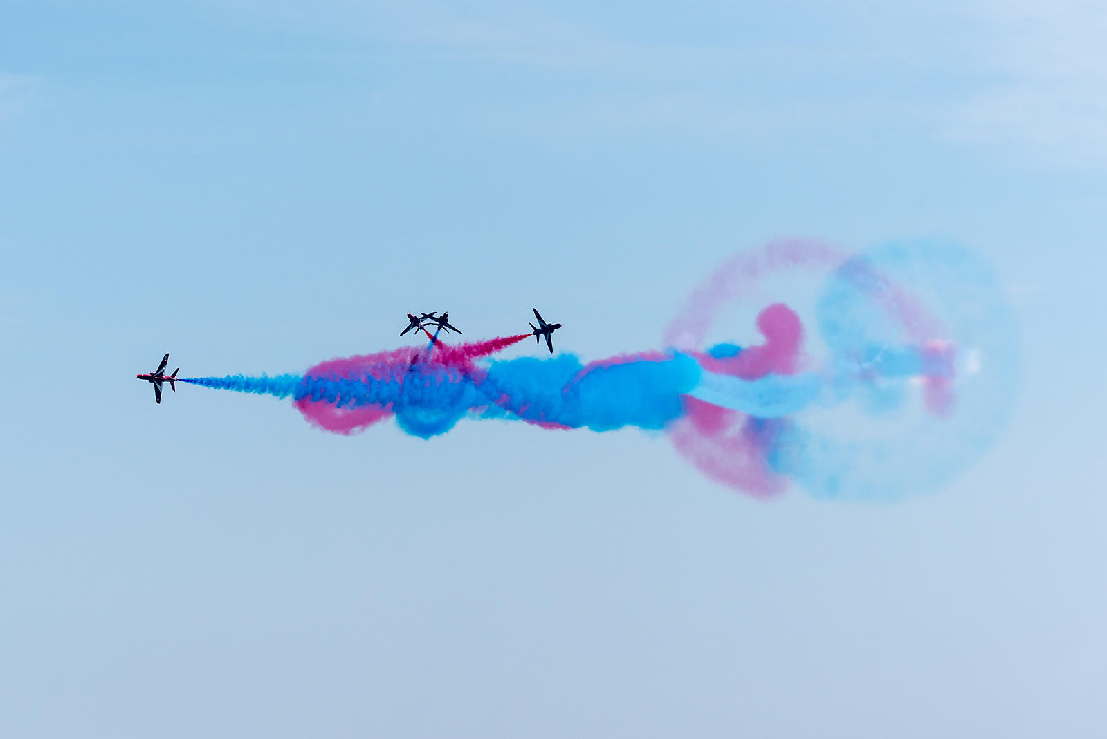 Red Arrows break