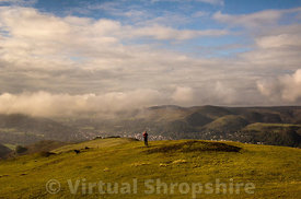 View from Caer Caradoc