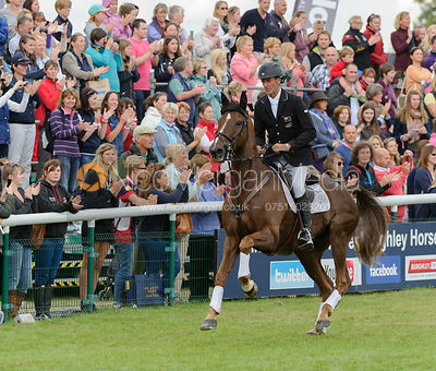 Mark Todd and OLOA - Burghley Horse Trials 2013.