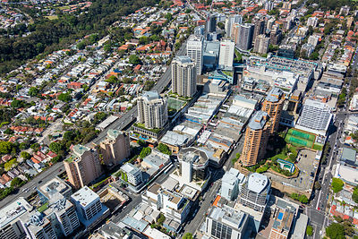 Bondi Junction From Above