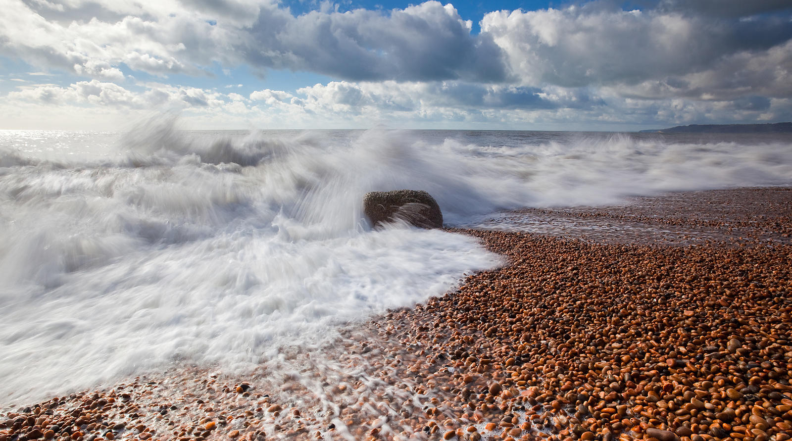 Rough sea on the Dorset Coast
