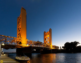 Tower Bridge over the Sacramento River #2