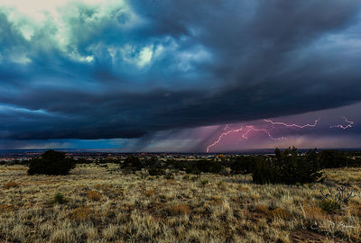Lightning over Albuquerque
